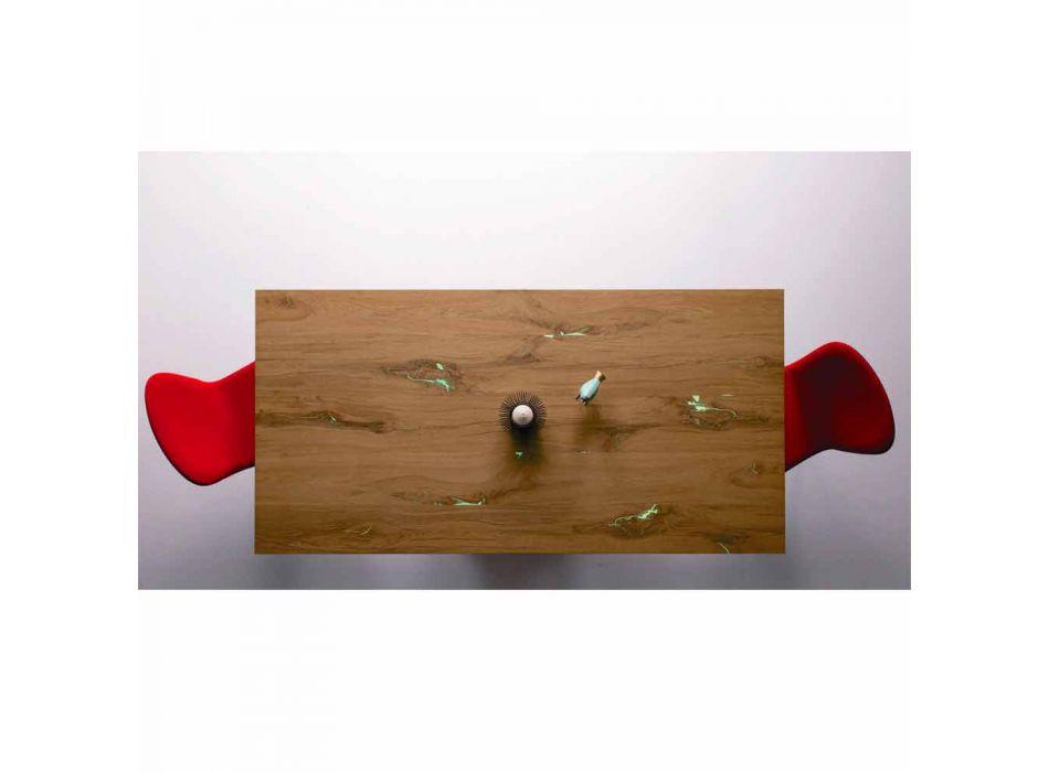 Ausziehbarer Esstisch Bis zu 294 cm Made in Italy Wood Design - Cirio
