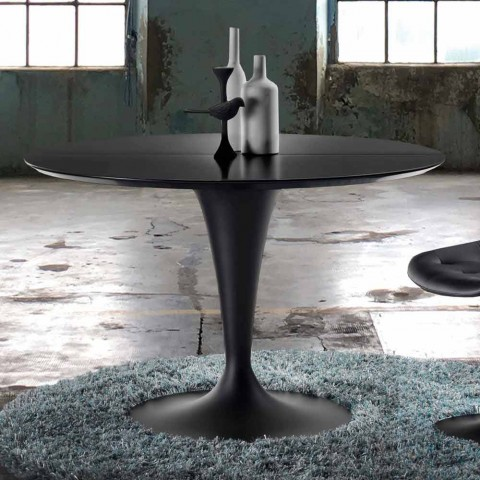 Runder Esstisch ausziehbar in modernem Design Borgia
