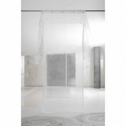 Eleganter Luxusvorhang mit Organza, Design und Qualität Made in Italy - Organdy