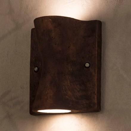 Toscot Lido handgefertigte Wandlampe für den Innen- und Außenbereich made in Italy