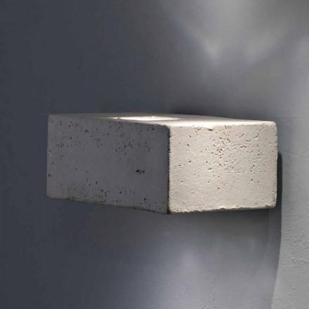 Toscot Smith LED Wandleuchter aus Terrakotta für den Außenbereich