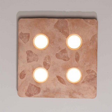 Toscot Vivaldi Design Wandlampe aus Terrakotta made in Italy