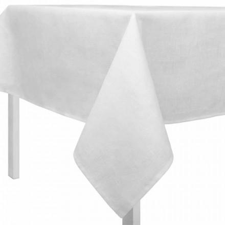 Tischdecke aus Leinen cremeweiß, rechteckig oder quadratisch - Blessy