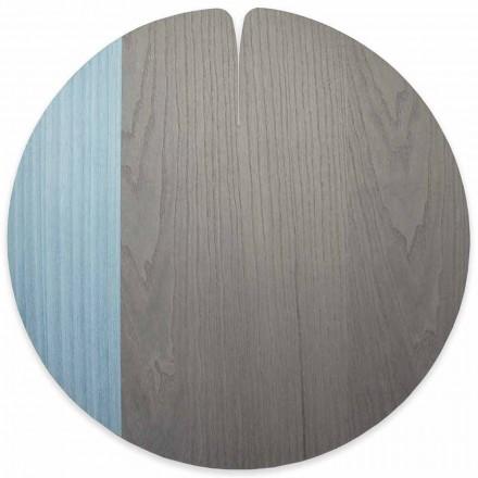 Modernes amerikanisches Tischset aus Echtholz Made in Italy - Stan