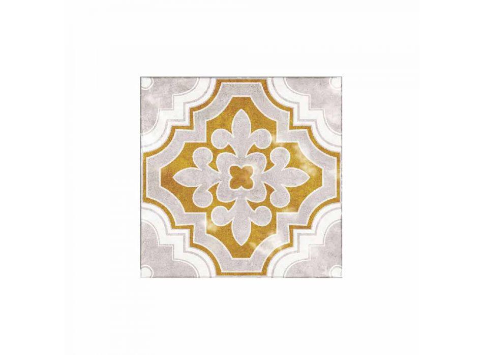 Amerikanisches Tischset aus PVC und modernem farbigem Polyester, 6 Stück - Dorado