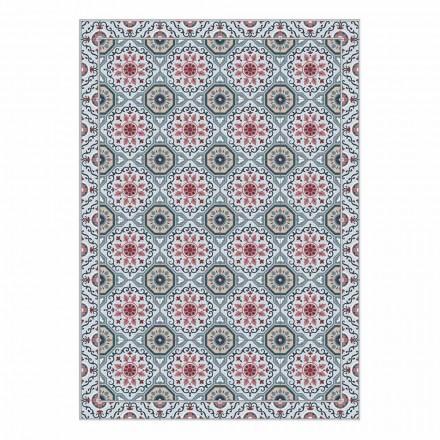 Waschbares amerikanisches Tischset im PVC- und Polyester-Design, 6 Stück - Meriva