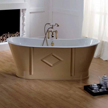 Freistehende Badewanne in verschiedenen Farben Allen