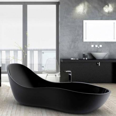 Freistehende Badewanne in modernem Design Wave