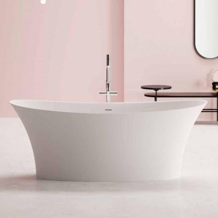 moderne Freestanding Badewanne, Solid Surface Design - Look