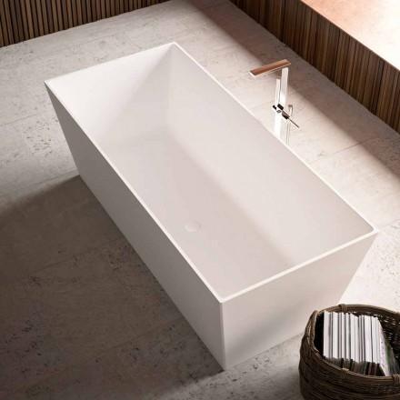 freistehende Badewanne  weiss matt/ glänzend in 2 Größen, - Filo