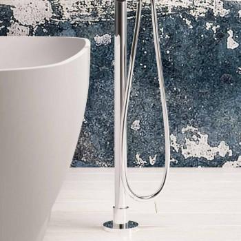 Moderne freistehende Wanne, Solid Surface Design - Link