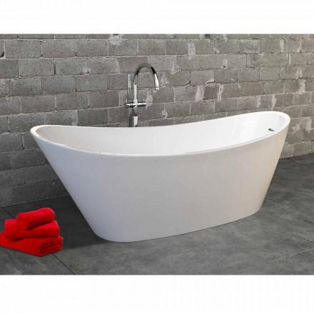 Nataly modernes Design weiß Acryl freistehende Badewanne, 1700x745mm