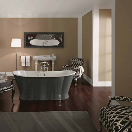 Badewanne Freestanding in originellem Design Cox