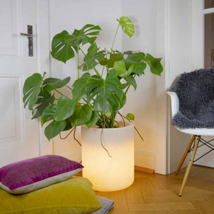 Vase mit Garten- oder Innenbeleuchtung, modernes Design - Cilindrostar
