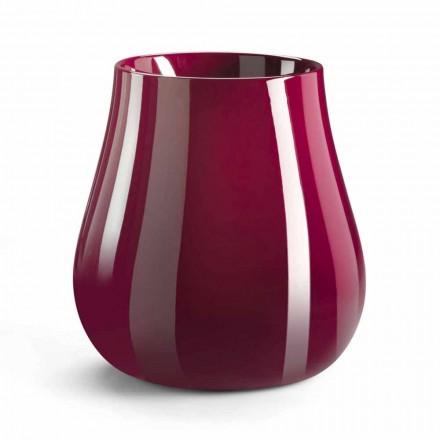 Tropfenförmige dekorative Designvase aus Polyethylen Made in Italy - Monita