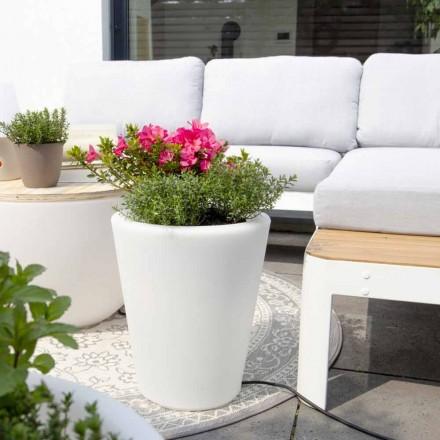 Leuchtende Vase für Außen- und Innenräume, farbenfrohes Design in 3 Dimensionen - Vasostar