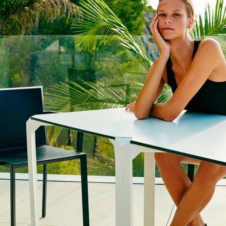 Vondom Quartz quadratischer Gartentisch in modernem Design