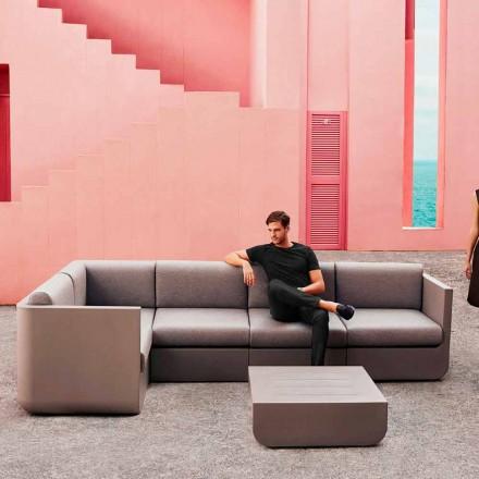 Vondom Ulm Gartenlounge Set, taupe, Design