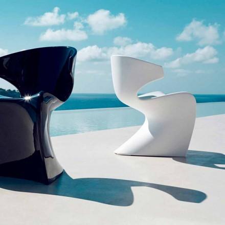 Vondom Wing Gartenstuhl von Design aus Polyäthylen L50xP56xH74 cm