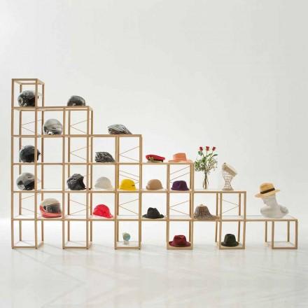 Bücherregal modular in modernem Design Zia Babele I Castelli 8