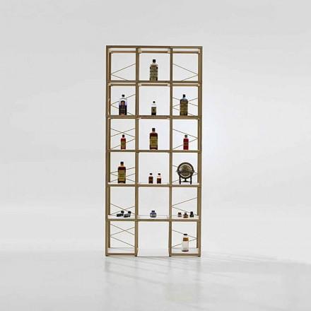 Bücherregal modular in modernem Design Zia Babele I Castelli 9