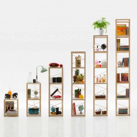 Bücherregal modular in modernem Design Zia Babele Le Torri