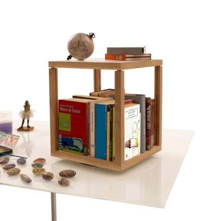 Made in Italy Bücherregal modular in modernem Design Zia Babele Le Trottole