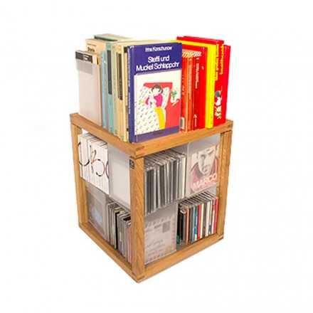 Bücherregal modular Zia Babele Le Trottole CD Regal